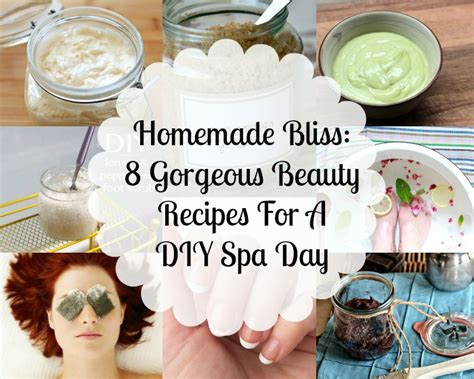 bliss 8 gorgeous recipes for a diy spa