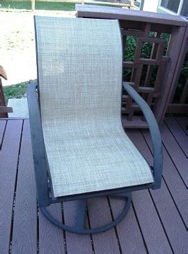 sling chair fabric replacement patio sling fabric replacement fp 029 weston