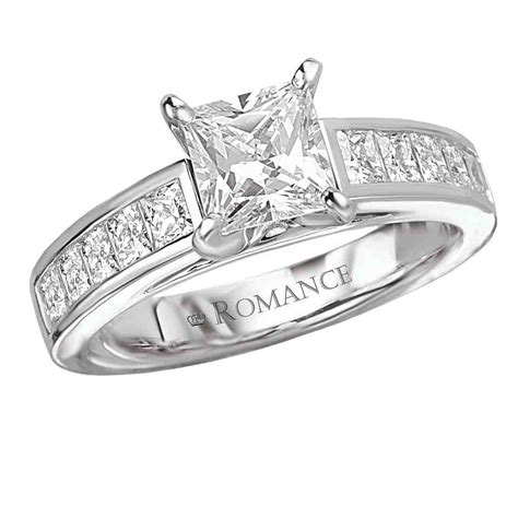 princess cut square engagement ring wedding and