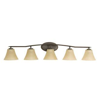 progress lighting p  antique bronze bravo  light bathroom vanity light  etched glass
