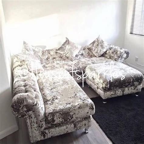 luxury crushed velvet sofas 17 best images about crushed velvet on