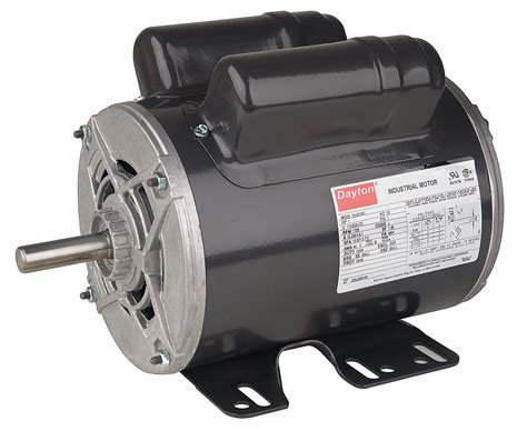 running capacitor for 1hp motor dayton 1 hp general purpose motor capacitor start run 1725 nameplate rpm voltage 115 208 230