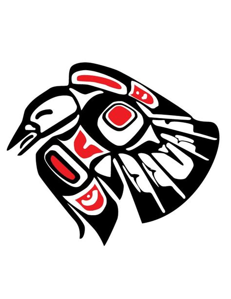 tribal crow tattoo cliparts co