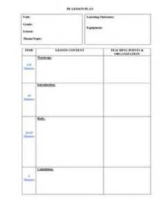 gymnastics lesson plan template 1000 images about school on physical