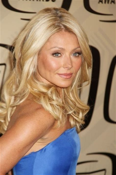 how do curl hair rippa kelly ripa hair color for highlights hollywood pinterest