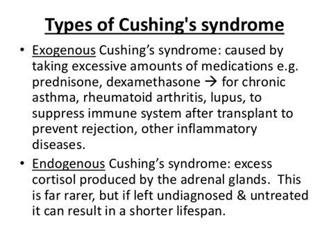 cushings disease untreated endocrine disorder cushing s