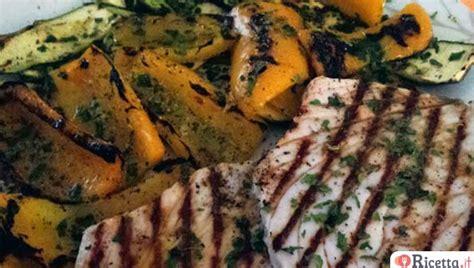 pesce spada come cucinarlo ricetta pesce spada con verdure grigliate ricetta it