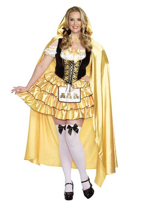s plus size goldilocks costume