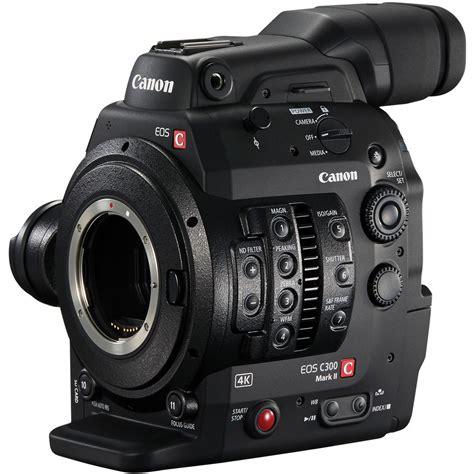 Canon Eos C300 canon c300 ii cinema eos with dual pixel cmos