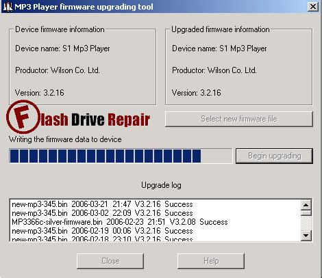 how to upgrade mp4 player firmware how to upgrade mp3 mp4 player firmware flash drive repair