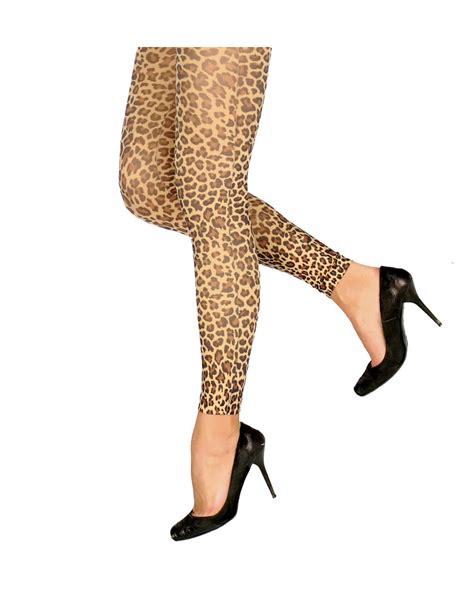 leopard motif buy tights horror shop