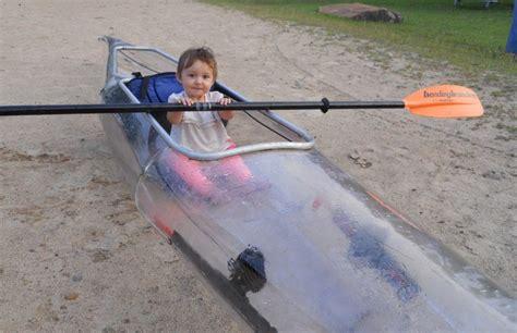 clear kayak rear hebel welding machine cute baby in clear kayak hebel welding machine