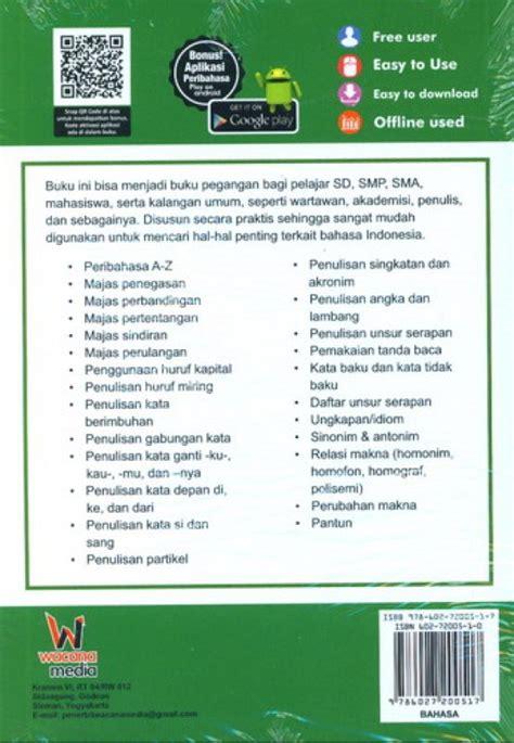Pintar Bahasa Indonesia Lengkap Untuk Pelajar Mahasiswa Umum bukukita buku pintar praktis bahasa indonesia untuk sd sma mahasiswa umum