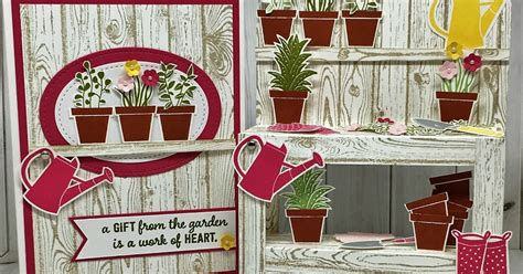 craft project central sootywing studios garden workbench and card craft