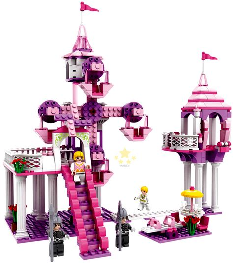 Lego Kw Cogo 3364 cogo friends series 3264 the ferris wheel castle 362 pcs building block sets educational diy
