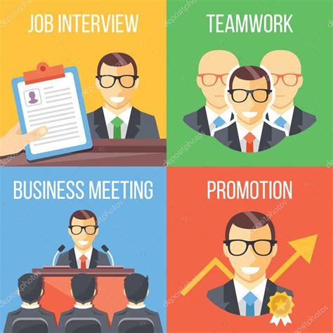 pattern illustrator jobs job interview teamwork business meeting promotion