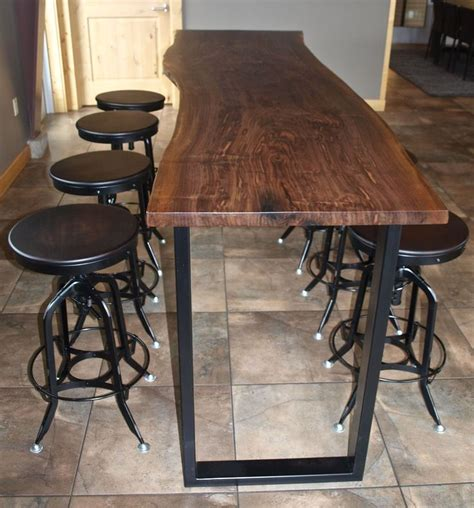 bar height wood dining table 25 best ideas about bar height dining table on