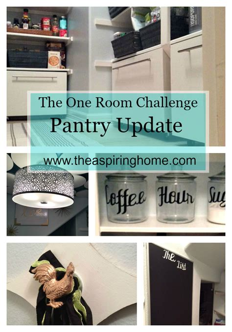 one room challenge one room challenge pantry makeover all details