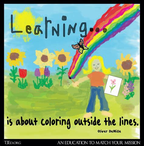 coloring outside the lines the weekly mentor by oliver