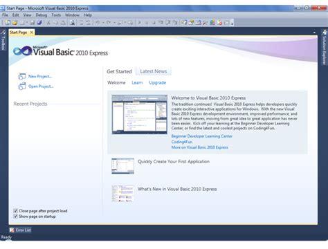 imagenes visual basic 2010 download visual basic 2017 express