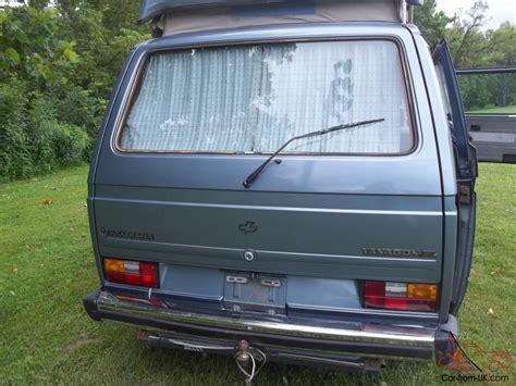 volkswagen vanagon 1987 1987 volkswagen vanagon gl
