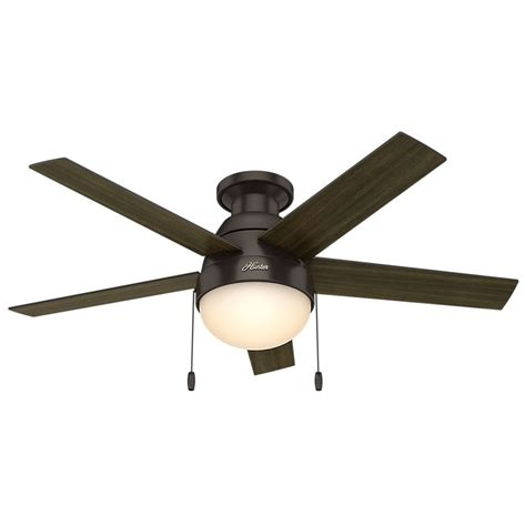 46 inch ceiling fan 46 inch fan anslee low profile premier bronze