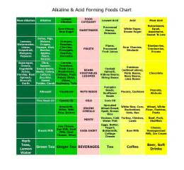 acid alkaline food chart printable book covers