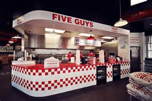 Five Guys Fileturn Ltd Complete Fit Out Of Five Guys