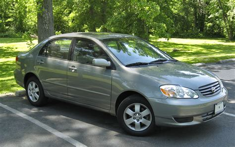 how cars work for dummies 2005 toyota corolla parental controls file toyota corolla 2003 le jpg wikimedia commons