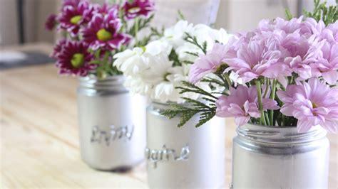 floreros con frascos floreros de frascos youtube floreros de frascos decorar