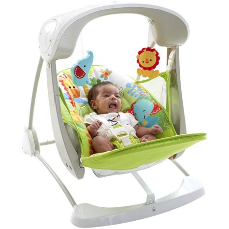 rainforest swing chair fisher price buy fisher price rainforest take along swing and seat