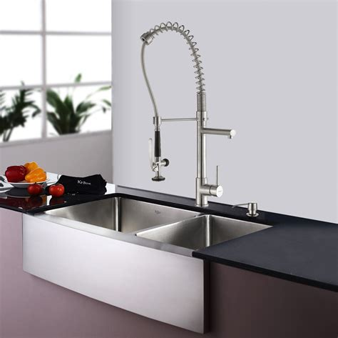 best kitchen sink faucets best kitchen faucet for deep sink
