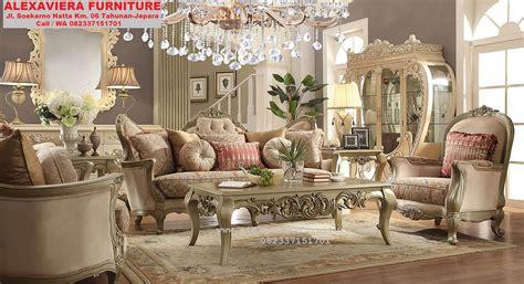 Sofa Ruang Tamu 1 Juta model sofa ruang keluarga mewah klasik kt 052 sofa ruang