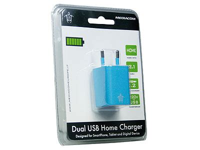 dual usb home charger mediacom