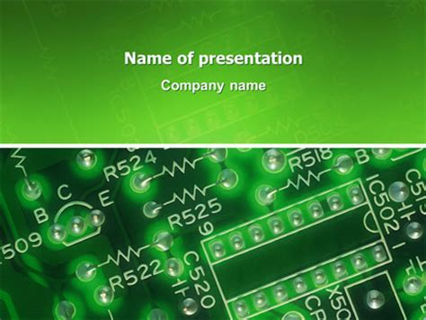 integrated circuit powerpoint presentation integrated circuit powerpoint template backgrounds 02973 poweredtemplate