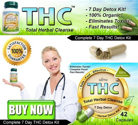 Detox Thc In A Week by Detox Supplements For Thc Figure Out My Shape