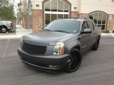 Custom Cadillac Escalade Ext by Purchase Used 2010 Cadillac Escalade Ext Fully Custom In