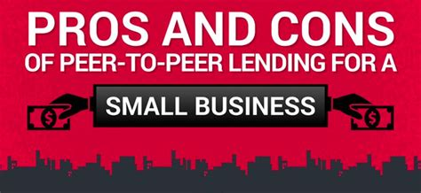 Pros Of Getting Mba by Pros And Cons Of Peer To Peer Lending For A Small Business