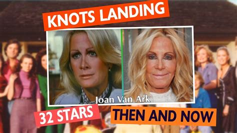 scow landing knots landing cast then and now youtube