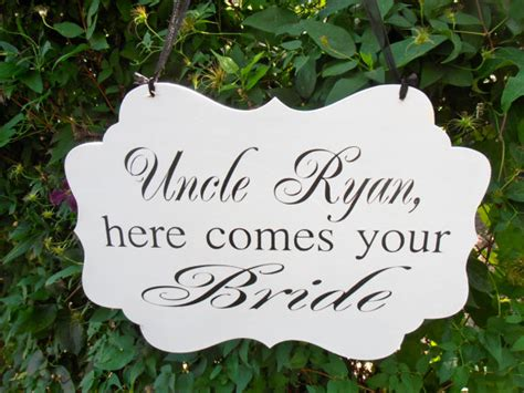 wedding programs what to call my here comes the bride uncle here comes your bride ring bearer or flower girl