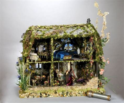 the enchanted dolls house the cotswold cottage fairy dolls house custom order for the hopelessl
