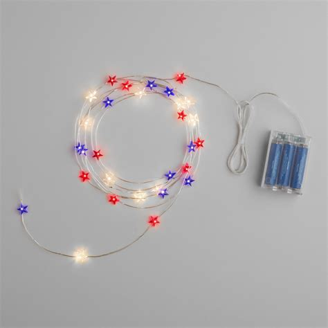 Star Micro Led Battery Operated 30 Bulb String Lights String Of Battery Operated Lights