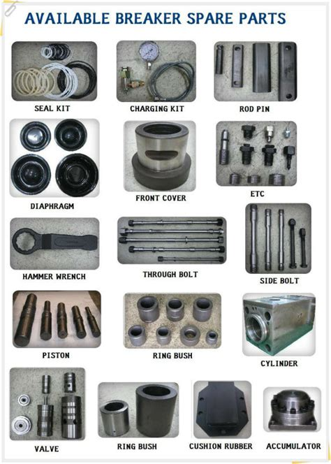 O Ring Rok Presso Spare Parts Rok Refresh Kit Original high quality hydraulic breaker and hammer spare parts buy breaker and hammer spare parts