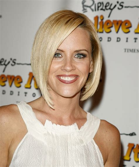 jenny mccarthy hair products jenny mccarthy medium straight formal hairstyle