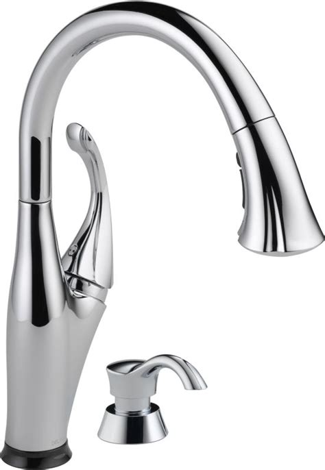 addison 9192t single handle pull down kitchen faucet with faucet com 9192t sd dst in chrome by delta