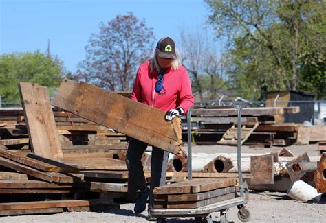 historic mercantile lumber draws a crowd has stories to
