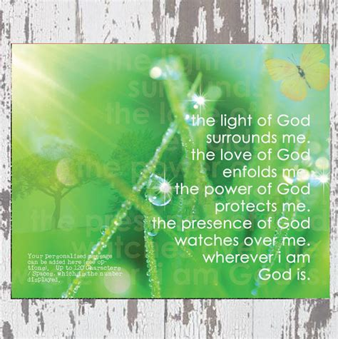 unity prayer personalized artwork by polly prb the light of