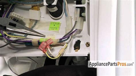 kitchenaid refrigerator light not working refrigerator light socket how to replace youtube