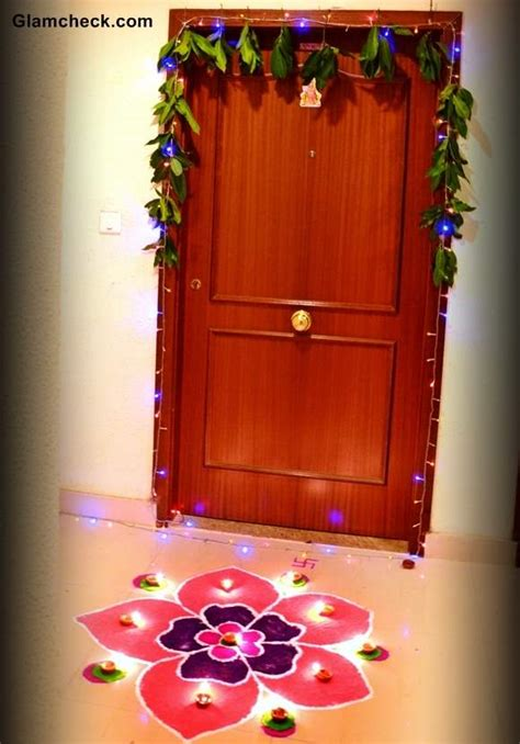 decoration of diwali in home diwali decoration ideas