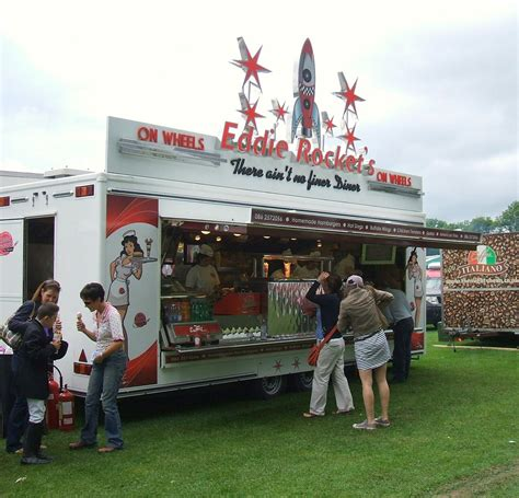 mobile catering units eddie rockets on wheels mullingar agricultural show 10t